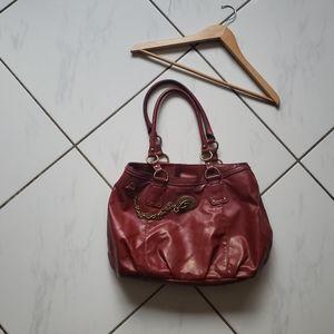 Nine West 💜 Faux Leather Hobo Purse Shoulder Bag